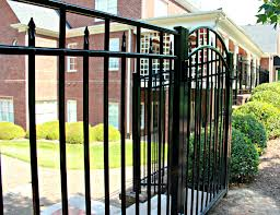 decorative aluminum fencing, ornamental aluminum fence