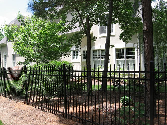 ornamental steel fencing