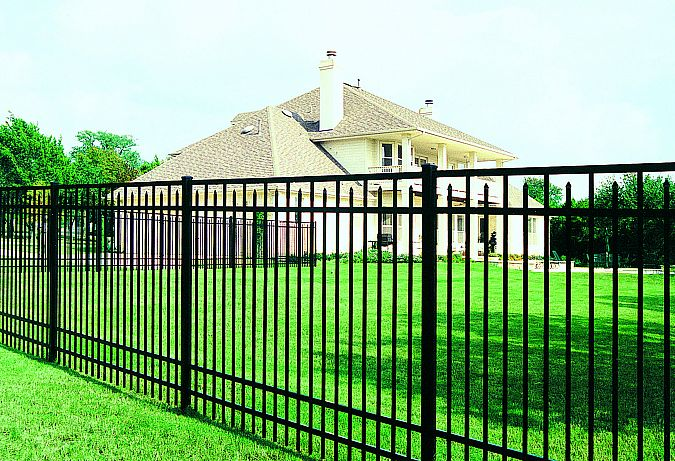 ornamental aluminum fences, aluminum fence installation, ornamental aluminum fencing, aluminum fence installation