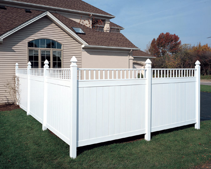 pvc privacy fences, semi private fence installation