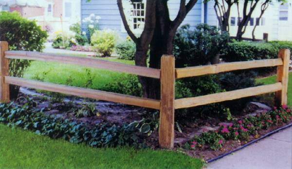Metropolitan Fence Installs Wood Split Rail Fences in Milwaukee and Waukesha Wisconsin